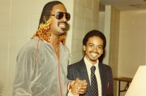 Jerome and Stevie Wonder