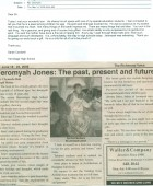 Article: The Past, Present and Future