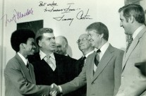 Jerome and Jimmy Carter