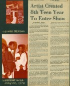 Article: Artist Created 8th Teen Year to Enter Show