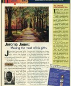 Article: Jerome Making the Most of his Gift